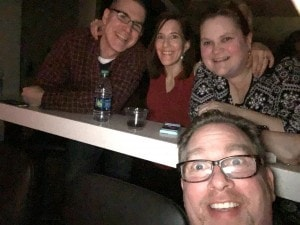 Pam and I with our great friends Heather and Steve Ruemenapp!!