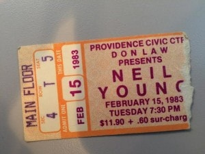 Huge Neil fan. Seen him a few times. I think he was in his 'Sample and Hold' phase. GREAT song on the 'Trans' lp called 'Like An Inca' with Nils Lofgren on guitar.
