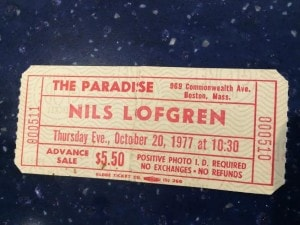 This is just one of many Nils shows I've caught over the years. I love his playing and his voice.