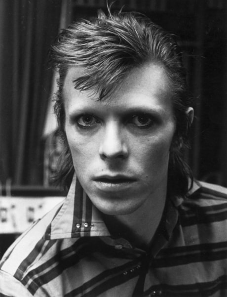 3rd February 1973:  David Bowie (David Robert Jones) pop star and actor.  (Photo by Evening Standard/Getty Images)