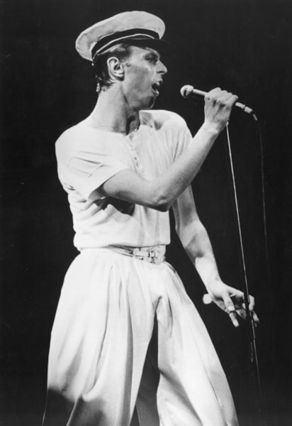 15th June 1978:  David Bowie playing the City Hall Newcastle at the start of his 1978 British concert tour.  (Photo by Colin Davey/Evening Standard/Getty Images)