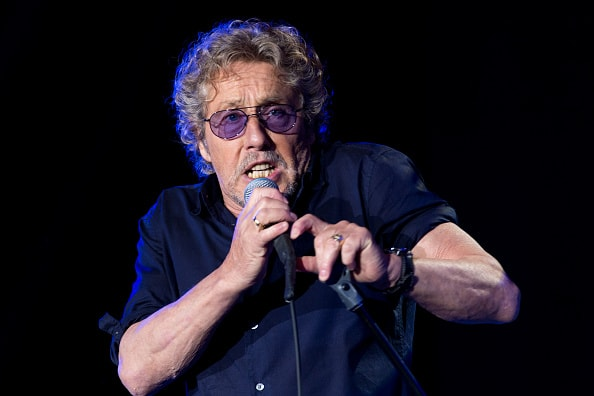 GLASTONBURY, ENGLAND - JUNE 28:  Roger Daltry of The Who performs on the Pyramid Stage at the Glastonbury Festival at Worthy Farm, Pilton on June 28, 2015 in Glastonbury, England.  Now its 45th year the festival is one largest music festivals in the world and this year features headline acts Florence and the Machine, Kanye West and The Who. The Festival, which Michael Eavis started in 1970 when several hundred hippies paid just £1, now attracts more than 175,000 people.  (Photo by Ian Gavan/Getty Images)