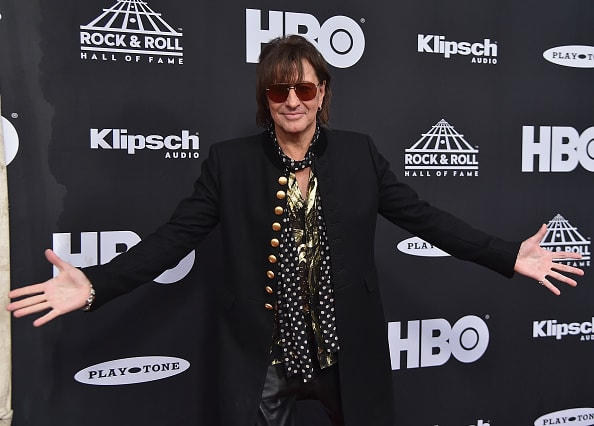 CLEVELAND, OH - APRIL 14:  Inductee Richie Sambora of Bon Jovi attends the 33rd Annual Rock & Roll Hall of Fame Induction Ceremony at Public Auditorium on April 14, 2018 in Cleveland, Ohio.  (Photo by Theo Wargo/Getty Images For The Rock and Roll Hall of Fame)