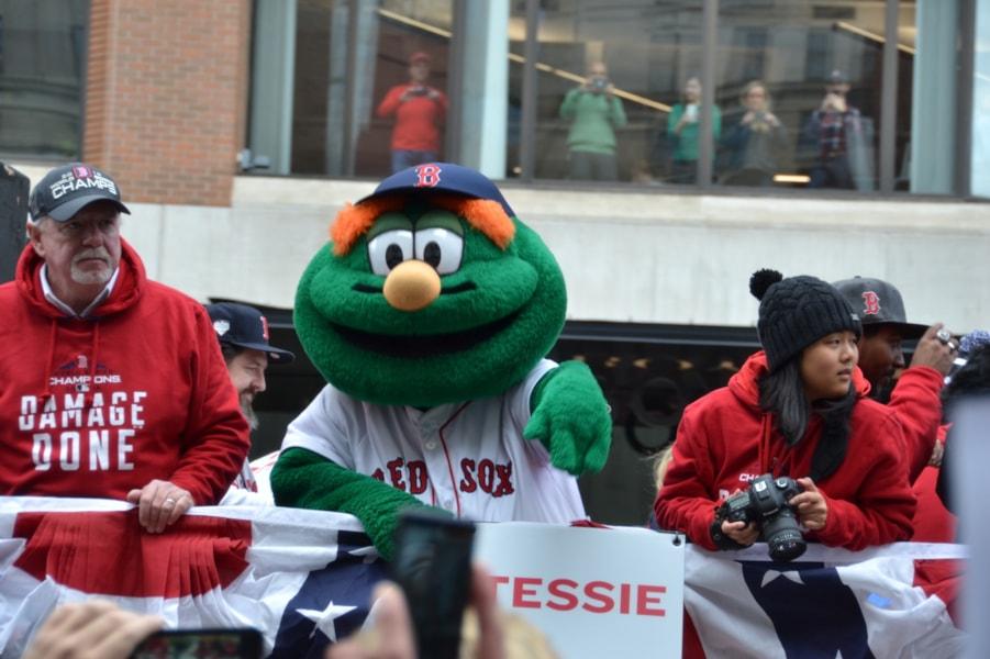 Take it in... It's great to be a Boston sports fan!
