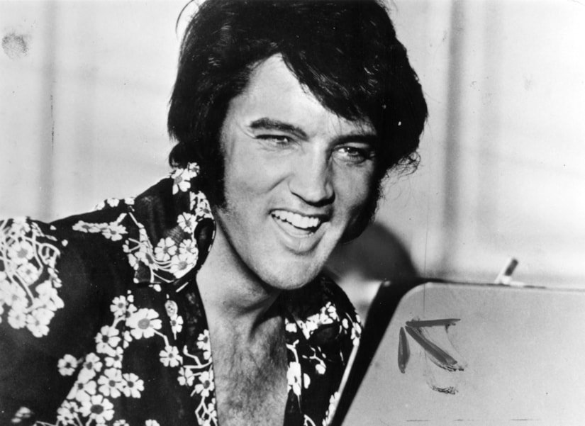 American popular singer and film star Elvis Presley (1935 - 1977), to his fans the undisputed 'King of Rock 'n' Roll'.  (Photo by Keystone/Getty Images)