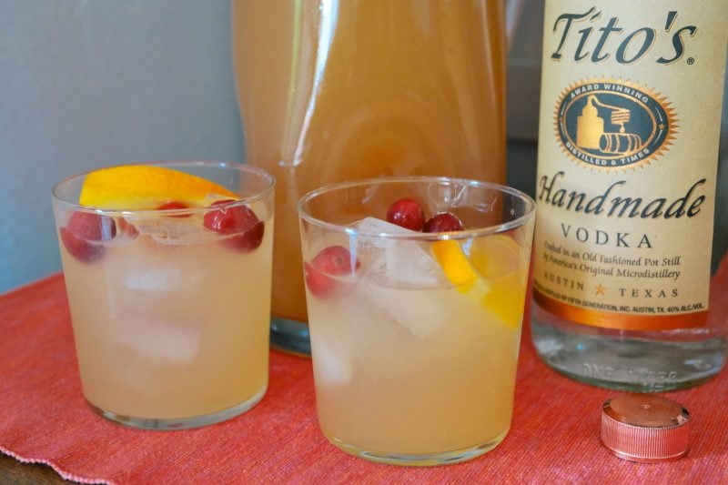 8 Must Try Thanksgiving Cocktails Presented By Tito's