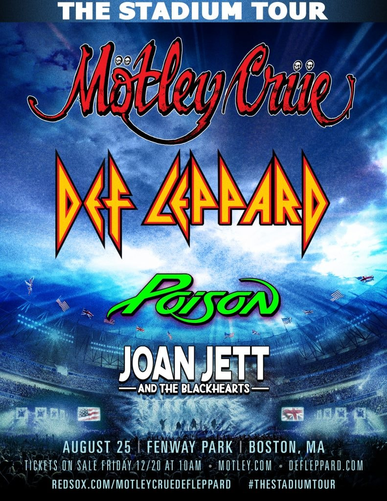 Events In Massachusetts August 25 2020.Motley Crue Def Leppard At Fenway Park