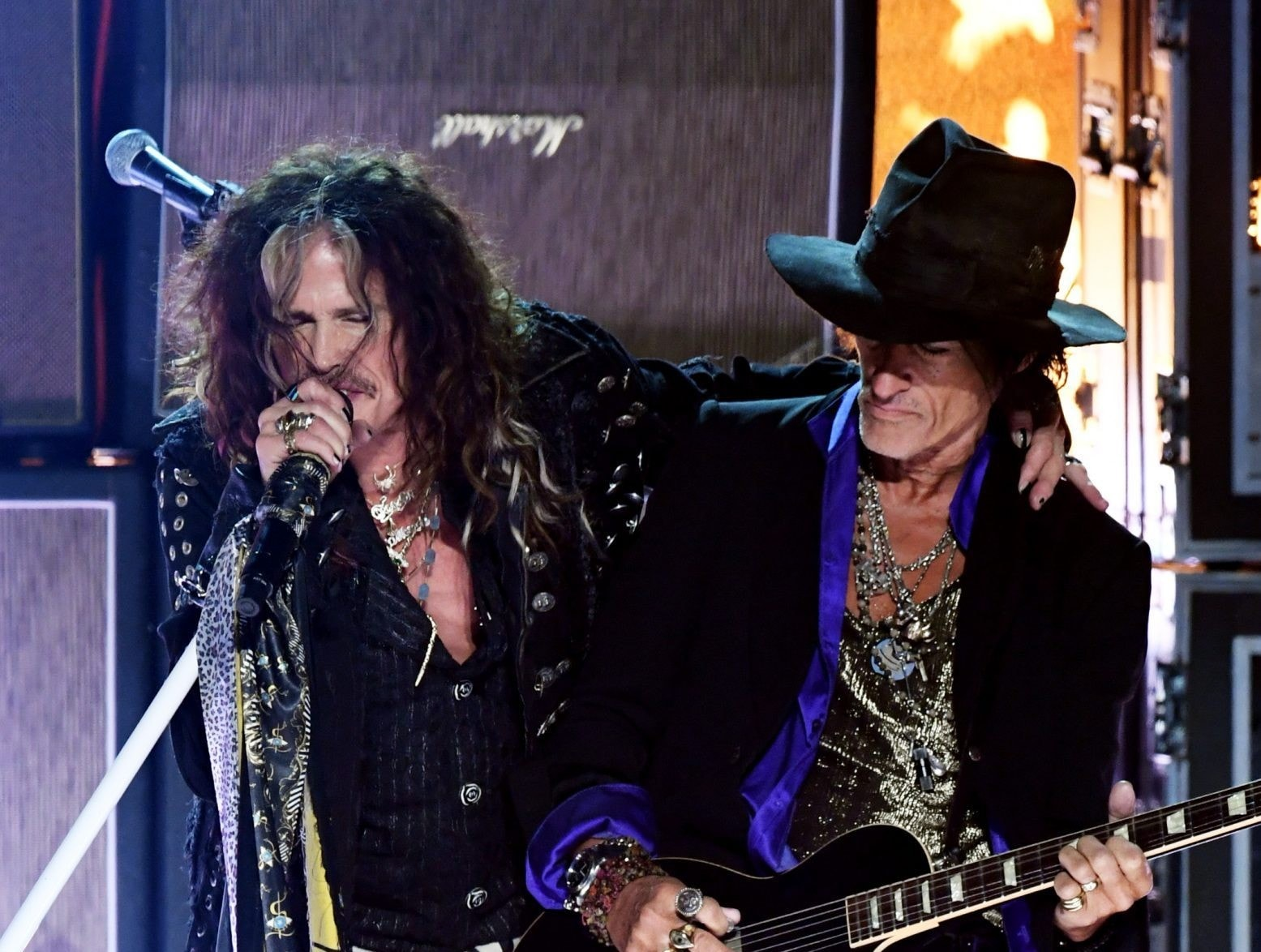 Aerosmith Delivers Chaotic GRAMMY Performance & Twitter Had Plenty to Say