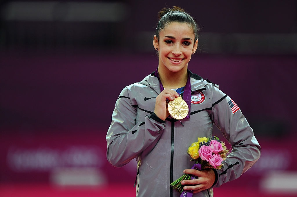 Olympic gymnast Aly Raisman talked about competing on her