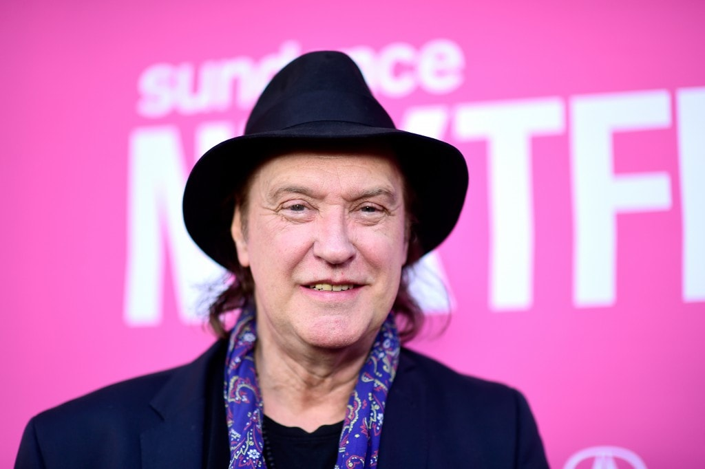 "LOS ANGELES, CA - AUGUST 08:  Musician Dave Davies of the Kinks attends the ""Entertainment"" premiere during the Sundance NEXT FEST at The Theatre at Ace Hotel on August 8, 2015 in Los Angeles, California.  (Photo by Frazer Harrison/Getty Images for Sundance)"