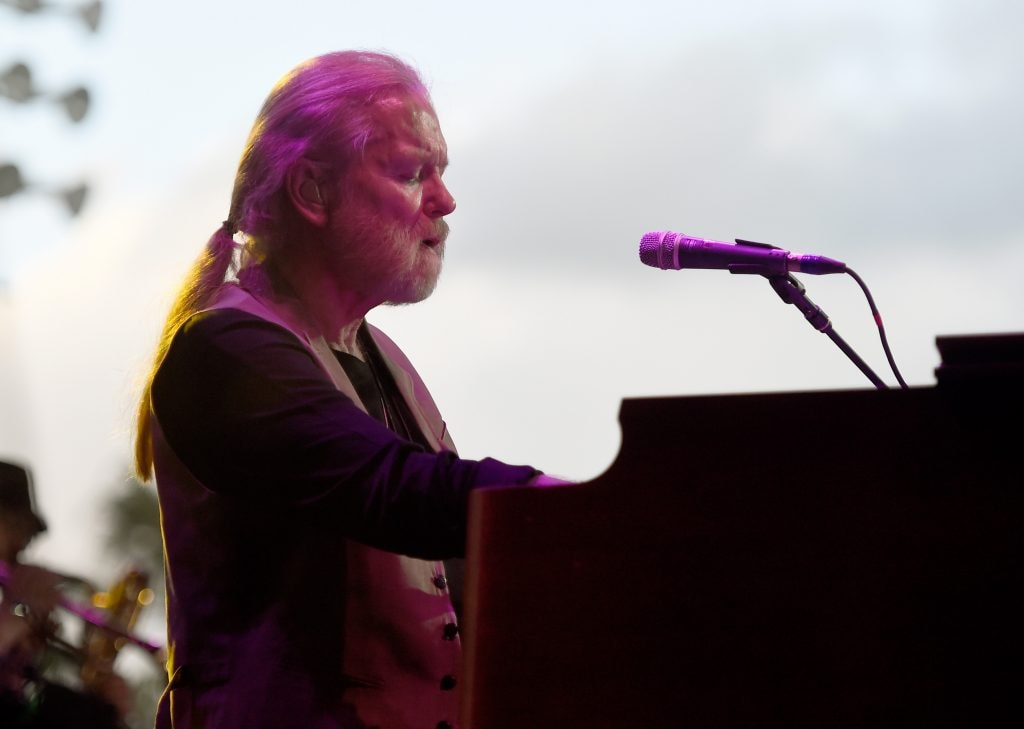 Gregg Allman performs onstage during day two of 2015 Stagecoach, California's Country Music Festival, at The Empire Polo Club on April 25, 2015 in Indio, California. Classic Rockers  (Photo by Frazer Harrison/Getty Images for Stagecoach)
